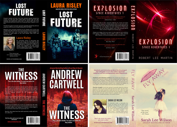 Premade ebook covers - CreateSpace Book Covers
