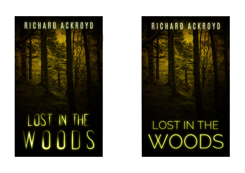 Premade ebook covers - Font change in a premade cover