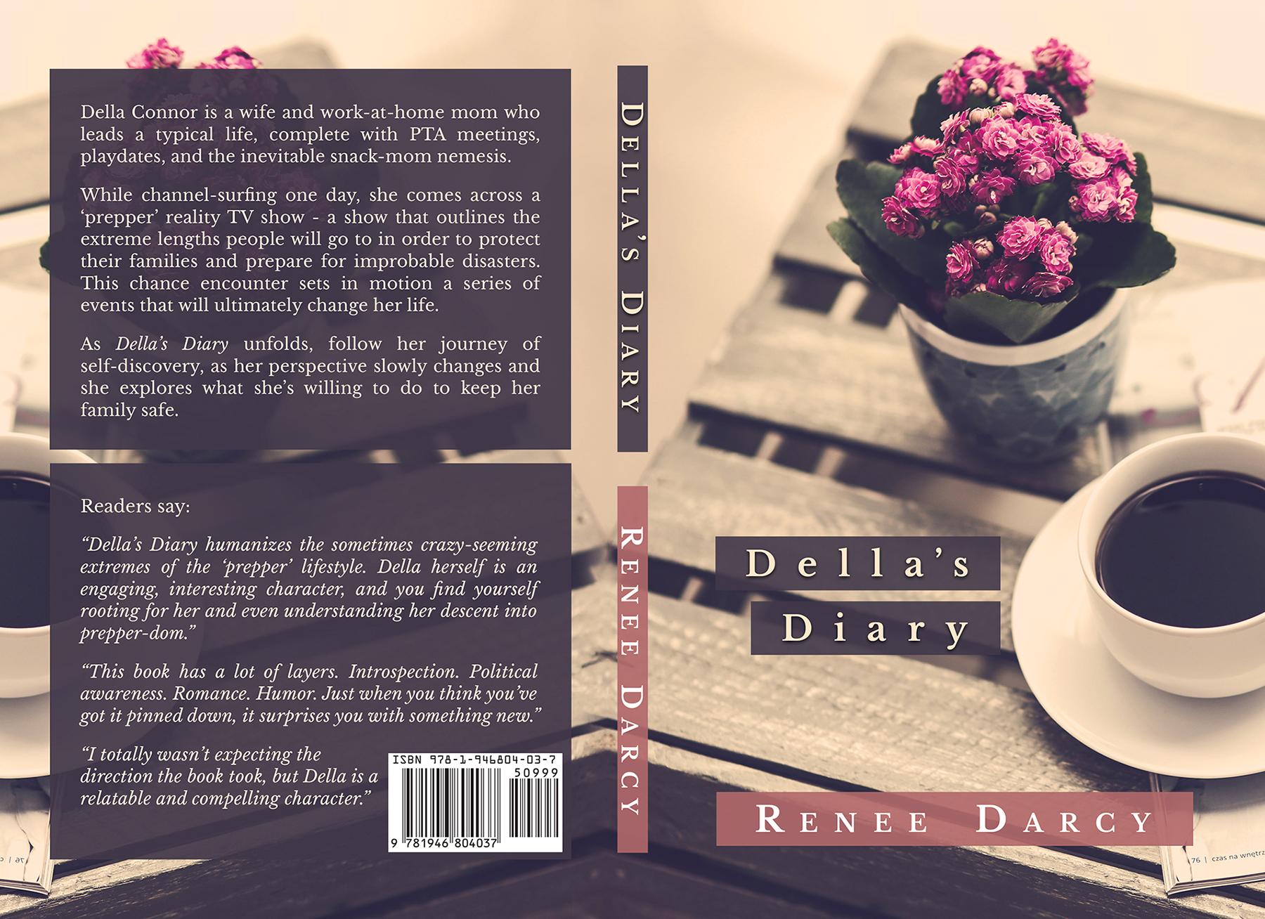 Della's Diary – CreateSpace Cover