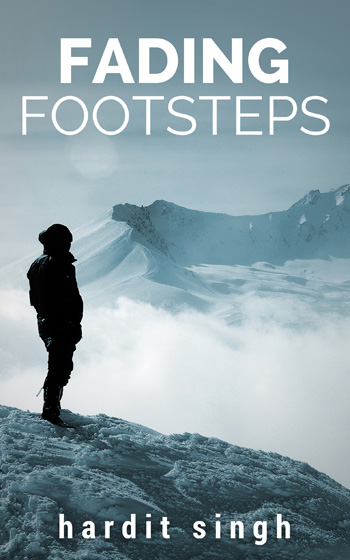 Fading Footsteps – Ebook Cover