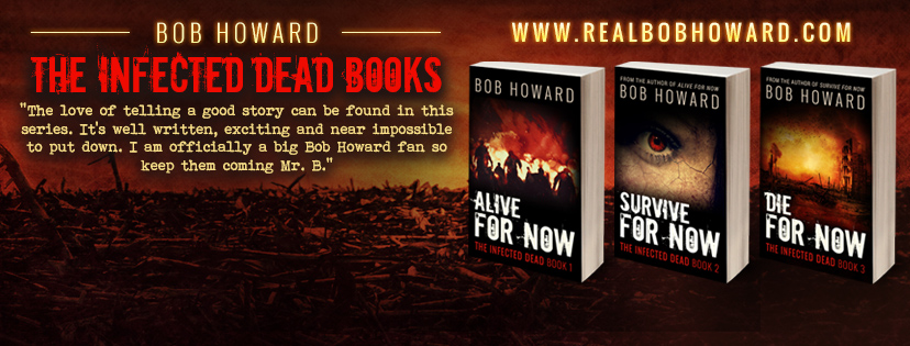 The Infected Dead Books – Facebook Header