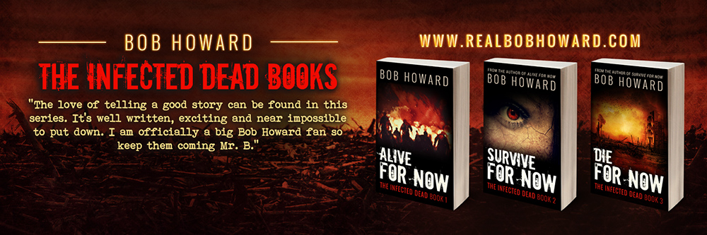 The Infected Dead Books – Twitter Header
